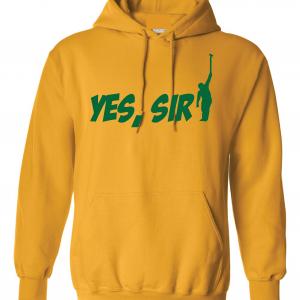 Yes Sir - Masters - Golf, Yellow, Hoodie