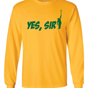 Yes Sir - Masters - Golf, Yellow, Long-Sleeved
