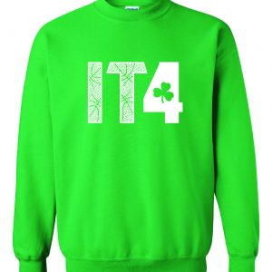 IT4 - Isaiah Thomas, Green, Crew Sweatshirt