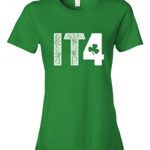 IT4 - Isaiah Thomas, Green, Women's Cut T-Shirt
