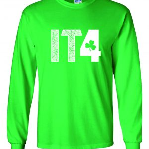 IT4 - Isaiah Thomas, Green, Long-Sleeved