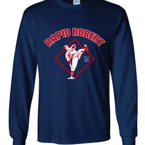 Rapid Robert (Bob Feller) - Cleveland Indians, Navy, Long-Sleeved