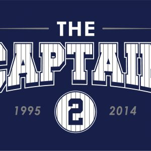The Captain - Derek Jeter - Yankees, Hoodie, Long-Sleeved, T-Shirt, Crew Sweatshirt, Women's Cut T-Shirt