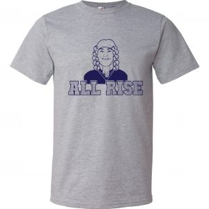All Rise - Aaron Judge, Grey, T-Shirt