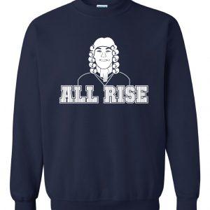 All Rise - Aaron Judge, Navy, Crew Sweatshirt