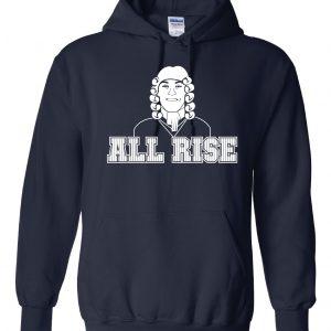 All Rise - Aaron Judge, Navy, Hoodie