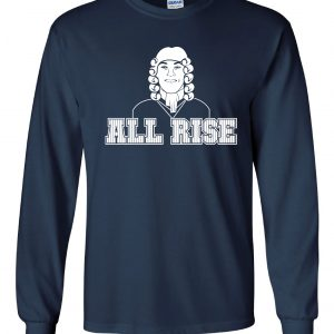All Rise - Aaron Judge, Navy, Long Sleeved