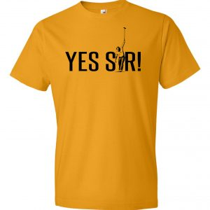Yes Sir - Jack Nicklaus,Yellow,T-Shirt