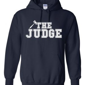 The Judge - Aaron Judge, Navy, Hoodie
