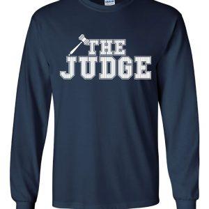 The Judge - Aaron Judge, Navy, Long-Sleeved
