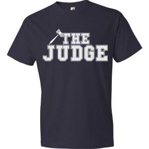 The Judge - Aaron Judge, Navy, T-Shirt