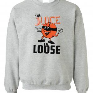 The Juice Is Loose - OJ Simpson, Grey, Crew Sweatshirt