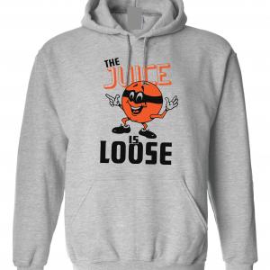 The Juice Is Loose - OJ Simpson, Grey, Hoodie