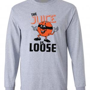 The Juice Is Loose - OJ Simpson, Grey, Long Sleeved