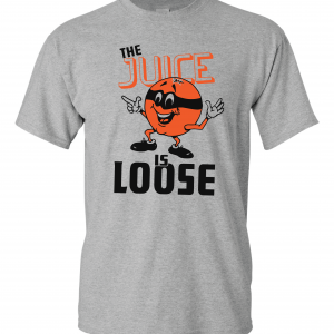 The Juice Is Loose - OJ Simpson, Grey, T-Shirt
