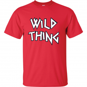 Wild Thing, T-Shirt, Red