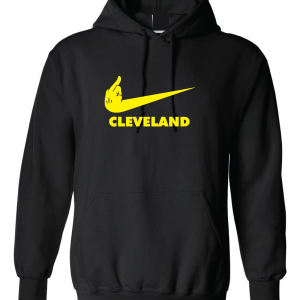 Pittsburgh Middle Finger to Cleveland - Black, Hoodie