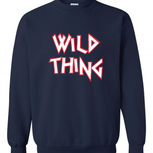 Wild Thing, Crew Sweatshirt, Navy