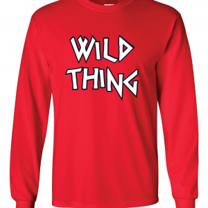 Wild Thing, Long Sleeved, Red