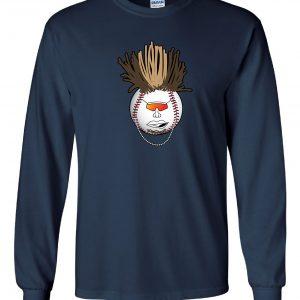 Indians Baseball Mohawk - Navy, Long-Sleeved