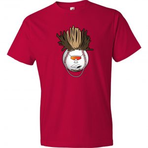 Indians Baseball Mohawk - Red, T-Shirt