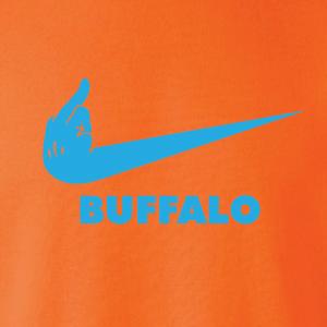 Miami Middle Finger to Buffalo - Hoodie, Long-Sleeved, T-Shirt, Crew Sweatshirt, Women's Cut T-Shirt