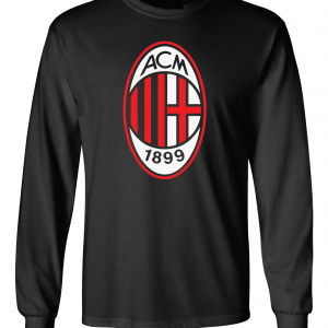AC Milan - Soccer, Black, Long-Sleeved