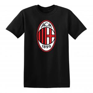 AC Milan - Soccer, Black, T-Shirt