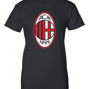 AC Milan - Soccer, Black, Women's Cut T-Shirt