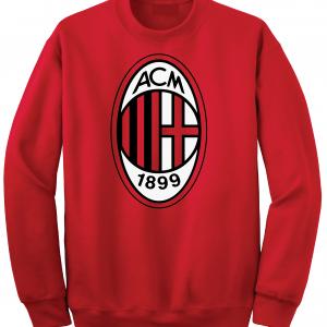 AC Milan - Soccer, Red, Crew Sweatshirt