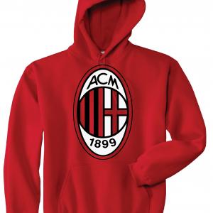 AC Milan - Soccer, Red, Hoodie