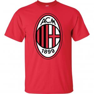 AC Milan - Soccer, Red, T-Shirt