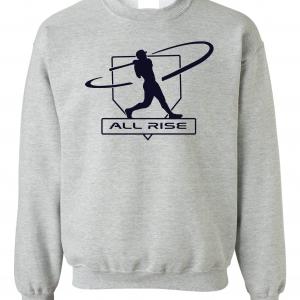 All Rise - Judge Swinging, Grey, Crew Sweatshirt
