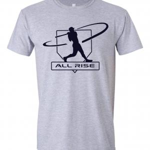 All Rise - Judge Swinging, Grey, T-Shirt