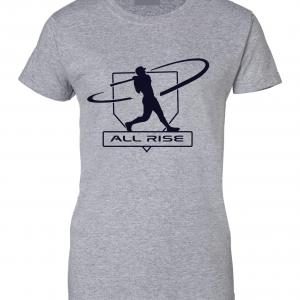 All Rise - Judge Swinging, Grey, Women's Cut T-Shirt