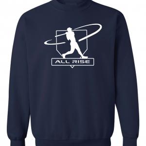 All Rise - Judge Swinging, Navy, Crew Sweatshirt