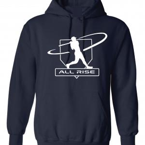 All Rise - Judge Swinging, Navy, Hoodie