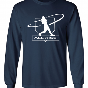 All Rise - Judge Swinging, Navy, Long-Sleeved