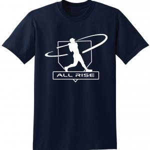 All Rise - Judge Swinging, Navy, T-Shirt