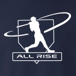 All Rise - Judge Swinging, Hoodie, Long-Sleeved, T-Shirt, Crew Sweatshirt, Women's Cut T-Shirt