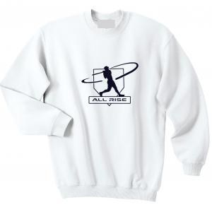 All Rise - Judge Swinging, White, Crew Sweatshirt