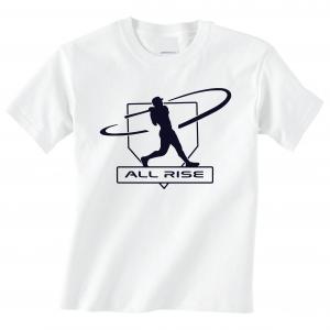 All Rise - Judge Swinging, White, T-Shirt