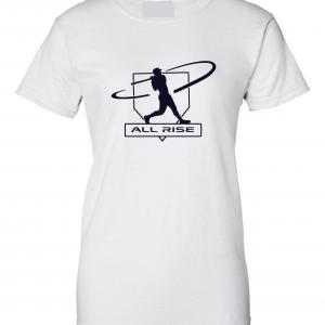 All Rise - Judge Swinging, White, Women's Cut T-Shirt