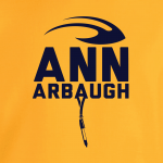 Ann Arbaugh- Jim Harbaugh - Michigan, Hoodie, Long-Sleeved, T-Shirt, Crew Sweatshirt, Women's Cut T-Shirt