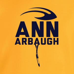 Ann Arbaugh- Jim Harbaugh - Michigan, Hoodie, Long-Sleeved, T-Shirt, Crew Sweatshirt, Women's Cut T-Shirt