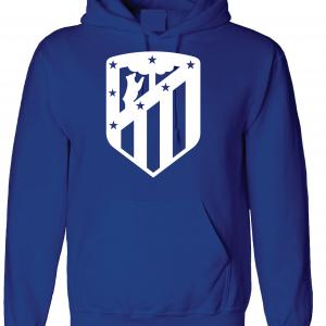 Athletico Madrid - Soccer, Royal Blue, Hoodie