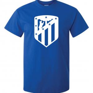 Athletico Madrid - Soccer, Royal Blue, T-Shirt