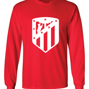 Athletico Madrid - Soccer, Red, Long-Sleeved