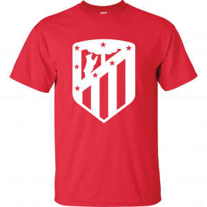 Athletico Madrid - Soccer, Red, T-Shirt