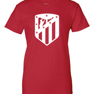 Athletico Madrid - Soccer, Red, Women's Cut T-Shirt